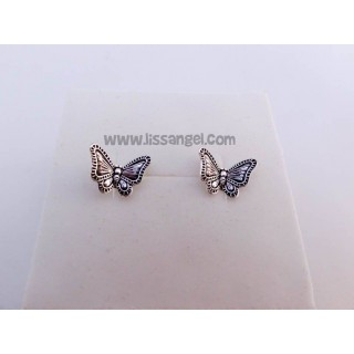 Carved Butterflies Earrings