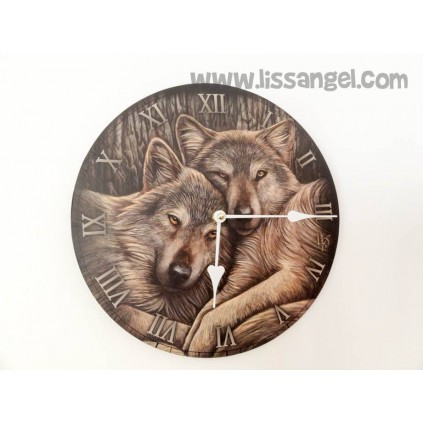 Reloj de pared Gato Embrujado