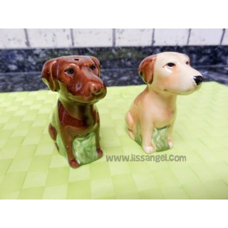 Labrador Retriever Dog Salt and Pepper Shakers