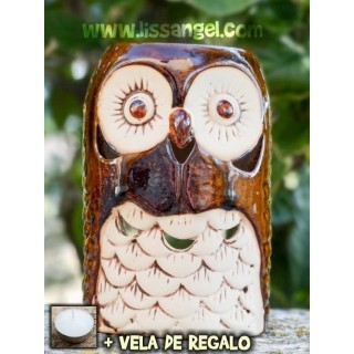 Medium Owl Oil Burner