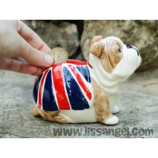 "Bulldog ""London"" Moneybox"