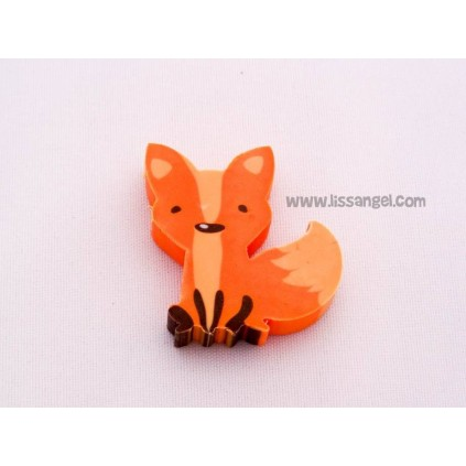 Set of 5 pieces of stationery Fox style
