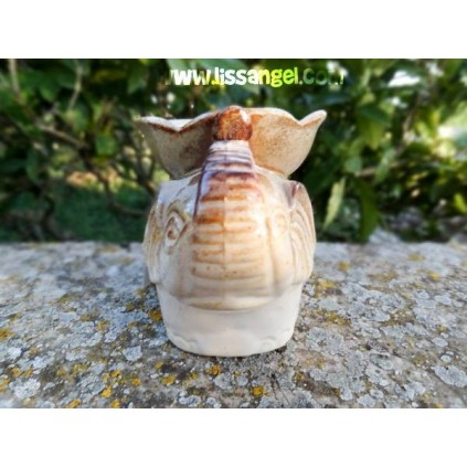 Elephant Oil burner with flower