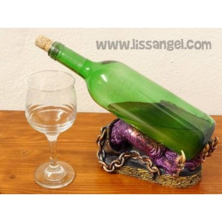 Wine bottle holder - Dark legend Dragon claw