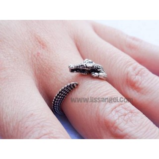 Crocodile Adjustable Ring