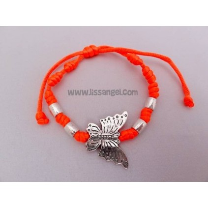 Butterfly colored bracelet