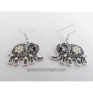 Elephant Vintage Earrings