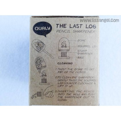 "Pencil Sharpener ""The Last Log"" by Qualy"