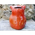 Red Owl Ceramic Moneybox