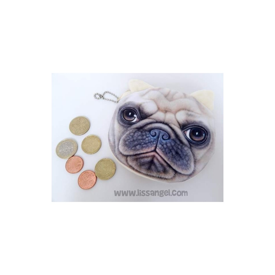 Carlino / Pug Dogs Soft Purses