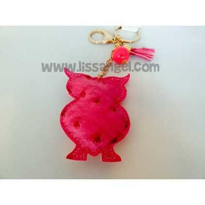 Owl Colours Keyring