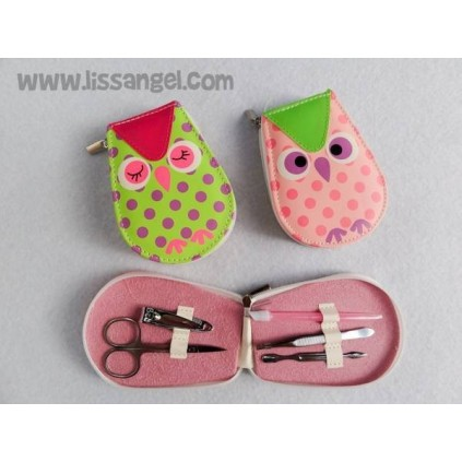 Manicure Case Spotted Owl (5 pieces)