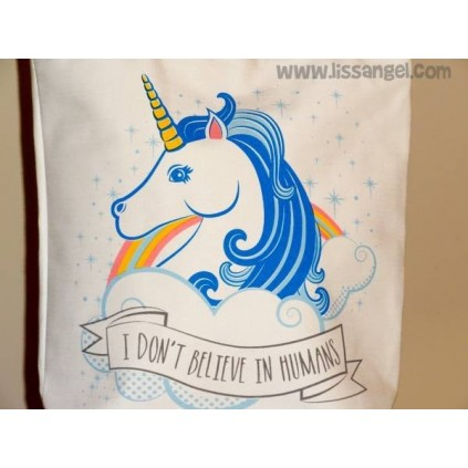 Cotton Tote Bag Magical Unicorn