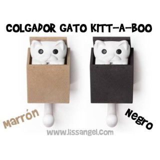 Perchero / Colgador Gato - Kitt-a-Boo by Qualy
