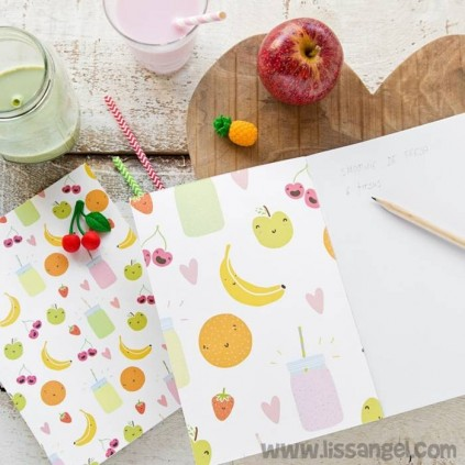 Funny Fruits Notebook
