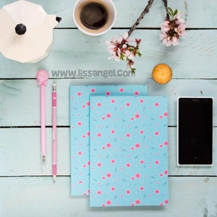 Kawaii Stars Notebook