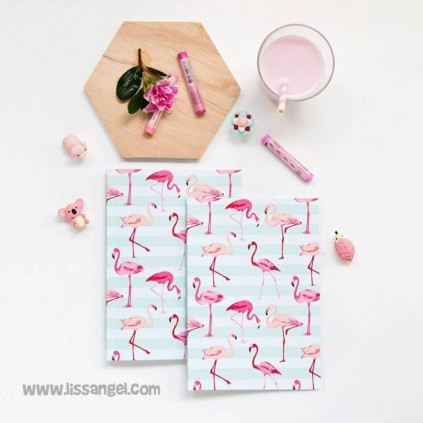 Pink Flamingo Notebook