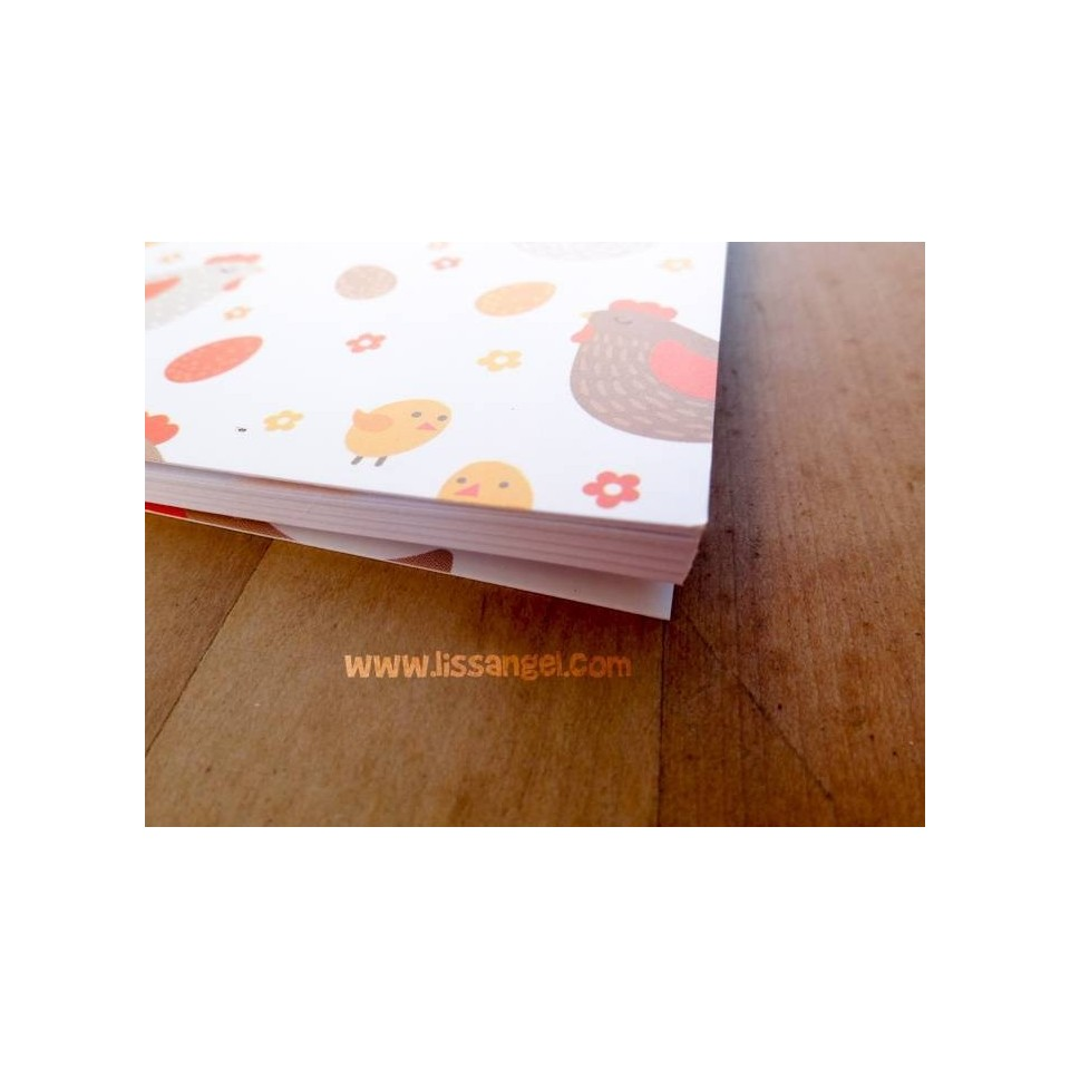 Country Chickens Notebook