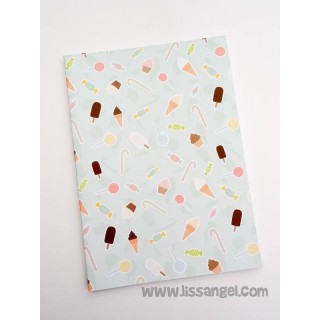 Appetizing Sweets Notebook (A5)