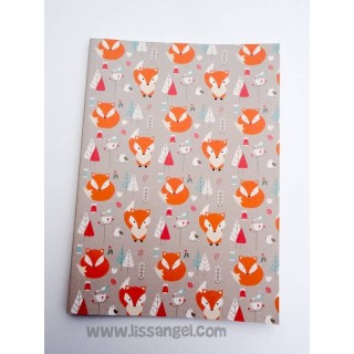 Foxes in the Forest Notebook (A5)