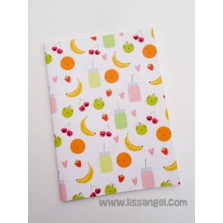 Funny Fruits Notebook (A5)
