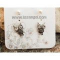 Owl and Pearls earring pack