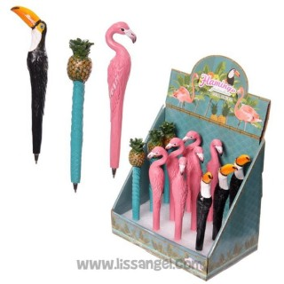 Tropical Pens (Flamingo, Toucan or Pineapple)