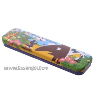 Pencil Case Happy Rainforest