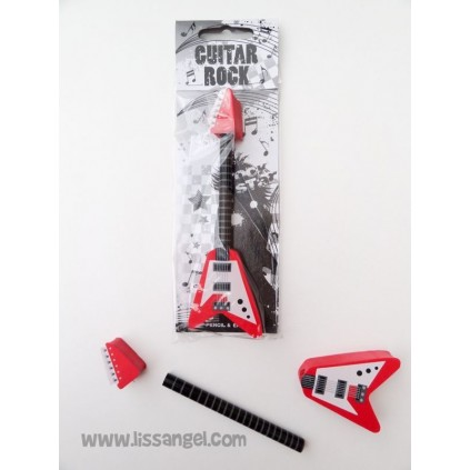 Guitar Rock Pencil and Erasers Pack