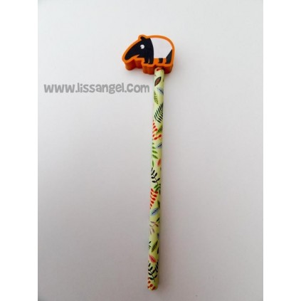 Pencils with Erasers Rainforest Animals
