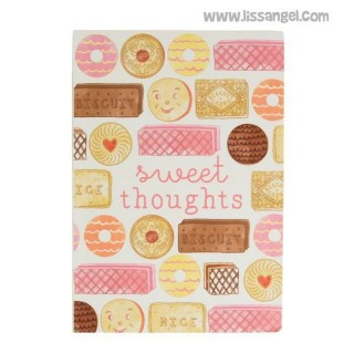 Vintage Notebook Sweet Thoughts