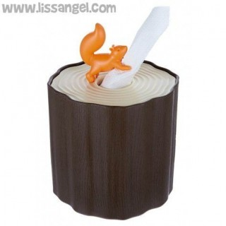 Toilet Paper Box -Squirrel Tissue Box