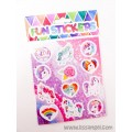 Multicolor Unicorns Stickers