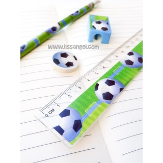 Pack 4 Stationery Pieces Football