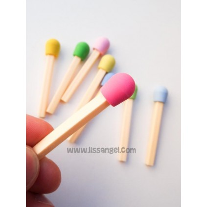 Kawaii Matchbox Erasers