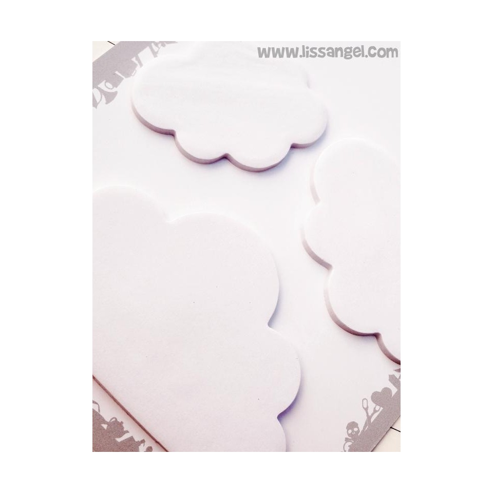 White Clouds Sticky Notes