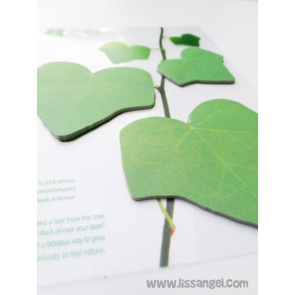 Adhesive Notes Creeper Plant Leaves