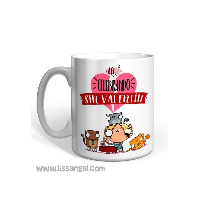 """Celebrating 'Without' Valentin"" - Miss Borderlike Mug"