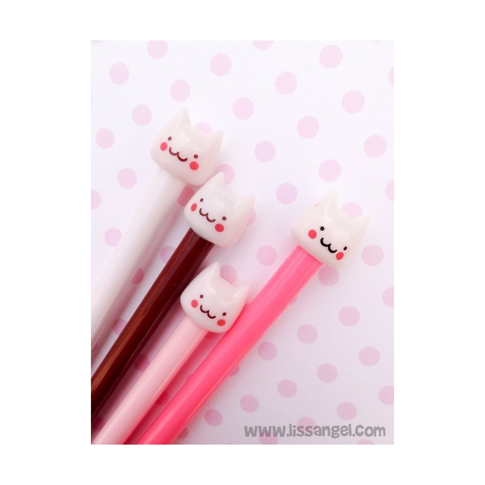 Fine Tip Kawaii Cat Pen