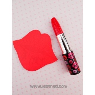 Pack Lips Adhesive Notes + Lipstick Pen