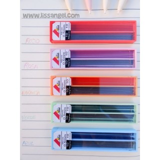 Colorful Mines for Mechanical Pencils (0.5 mm)