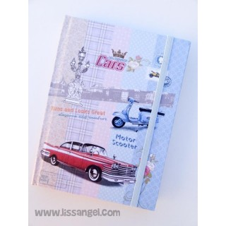 Vintage Vehicles Notebook (A6)