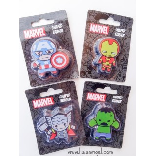 Kawaii version The Avengers Erasers