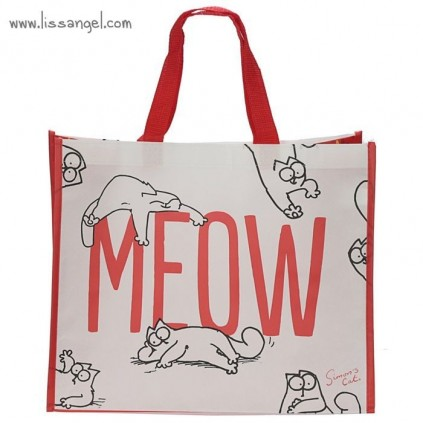 "Simon's Cat ""MEOW"" Shopping Bag"