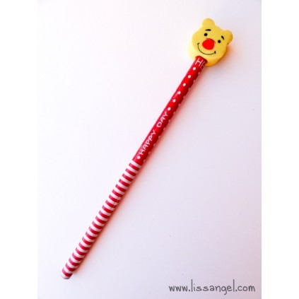 "Kawaii Bears ""Happy Day"" Pencil"
