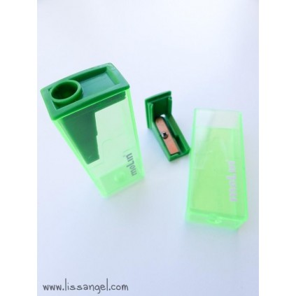 Vivid Colors Pencil Sharpener with Deposit