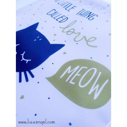 Cat MEOW Luch Bag