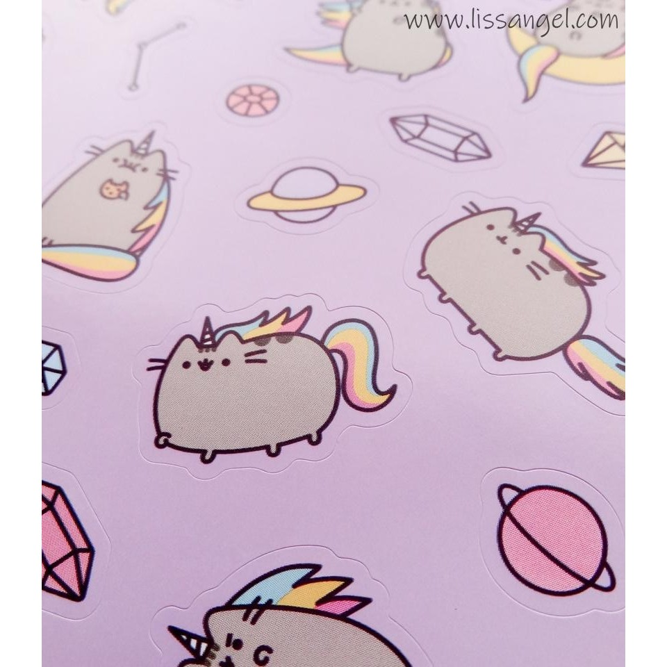 """Pusheenicorn"" Pusheen Stickers"