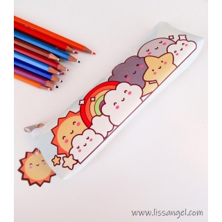 Kawaii Weather Pencil Case