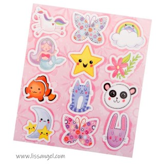 Kawaii Smiles Stickers